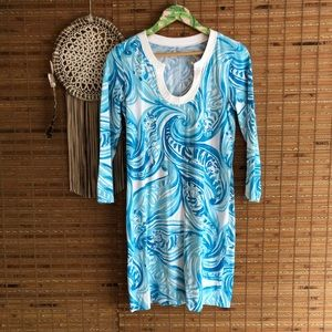 Lilly Pullitzer •Beach waves dress•